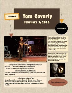 Flyer Tom Coverly